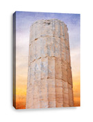 Artifacts Stone Pillar Canvas Print