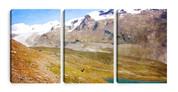 Snow Cap Mountains Canvas Prints (3 pack)