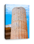 Stone Pillar Canvas Print
