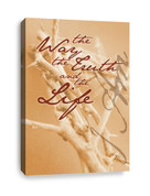 Christian Canvas Print - I am The Way, The Truth, & The Life