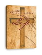 Cross Canvas Print - I am The Resurrection