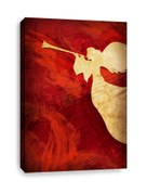 Angel Red - Christian Canvas Print - Right