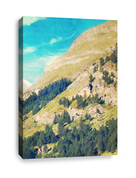 Canvas Print for Christian church - Mountain part 3