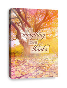 Give Thanks in Everything - Church Canvas Print