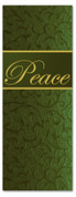 3x8 X-mas church banner - Green Peace