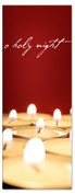 Red o holy night 3x8 Xmas banner