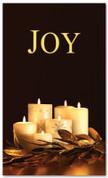 Black and Gold Christmas banner 4x6 - Joy