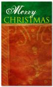 4x6 fabric or vinyl Merry Christmas banner