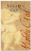 4x6 Mighty God - Christmas banner