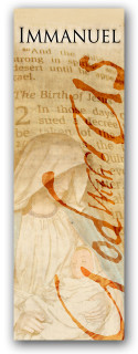 Immanuel God with Us 3x8 Christian banner