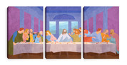 The Lord's Supper - three piece canvas print set