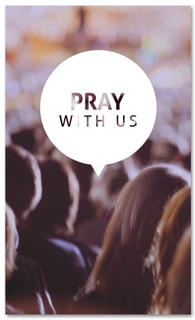 Prayer 3x5 Christian church banner