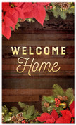 3x5 Welcome Home Christmas garland banner for church