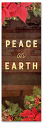 2x6 Peace on Earth Christmas garland church banner