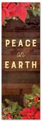 2x6 Peace on Earth Christmas garland church banner
