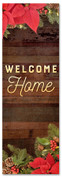2x6 Welcome Home garland Christmas banner for churches