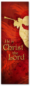 He is Christ the Lord - Christian Christmas banner