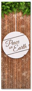 Christmas church banner - Peace on Earth