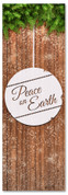 Christmas church banner - Peace on Earth