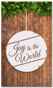 Joy to the World - Christian Christmas banner