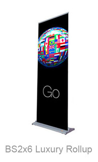 Luxury Rollup Banner Stand with Church Banner