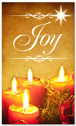 Christmas banner for churches - Joy 3x5 gold