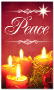 Christmas banner for churches - Peace