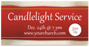 Christmas Eve church service banner