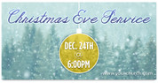 Outdoor Christmas Banner 24A