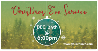 ORNAMENT Christmas Outdoor Banner