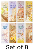 Christian Identity Church Banners set of 8