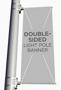 custom church light pole banners