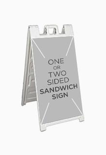 Custom Sandwich Board Sign (1 or 2 sided)