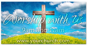 worship with us this Easter