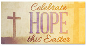 Outdoor Easter banner with free personalization