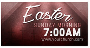 vinyl banner for Easter with free customization