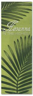 Hosanna in the Highest Easter Banner