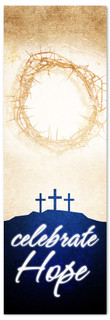 vertical Easter Banner