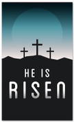 He is Risen indoor banner
