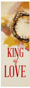 King of Love church banner