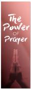 Power of Prayer Red Prayer Banner