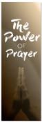 Power of Prayer Tan - Prayer Banner
