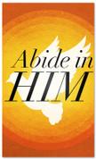 Abide in Him Prayer Banner