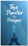 Power of Prayer Blue Prayer Banner