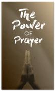 Power of Prayer Tan Prayer banner