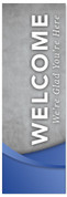 WC045 Welcome - Cement Blue