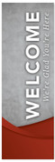 WC047 Welcome - Cement Red