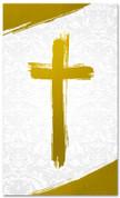 PAT031-2 Cross Brush Gold