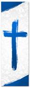 PAT032-1 Cross Brush Blue