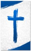 PAT032-2 Cross Brush Blue
